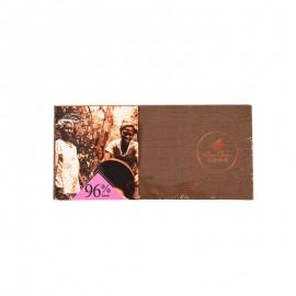 巧克巧蔻 96%黑巧克力薄片