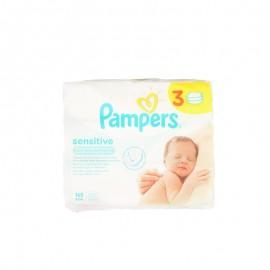 幫寶適敏感肌膚系列嬰兒濕巾 56片*3