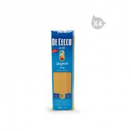 De Cecco Spaghetti Pasta (500 g*4)