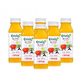 Fruiti Cold Pressed Fuji Apple Juice (300 ml*6)