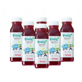 Fruiti Cold Pressed Blueberry Apple Juice (300 ml*6)