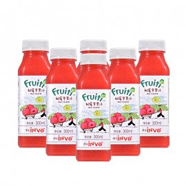 Fruiti Cold Pressed Raspberry Apple Juice (300 ml*6)