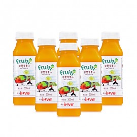 Fruiti Cold Pressed Mango Apple Juice (300 ml*6)