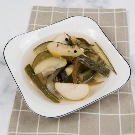 腌黃瓜青蘋果-嘉席餐廳