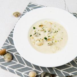 蛤蜊濃湯(1人份)-嘉席餐廳