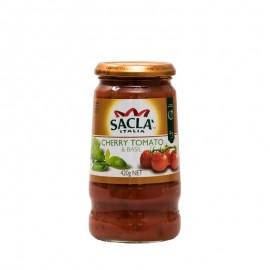 薩克拉牌 羅勒櫻桃番茄意粉醬(那不勒斯風味)420g