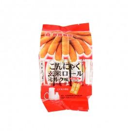 北田蒟蒻糙米卷牛奶口味 160g