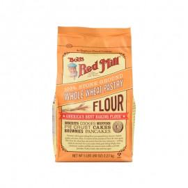 鮑勃紅磨坊 石磨研磨全小麥蛋糕粉2.27kg
