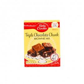 贝蒂妙厨 三重巧克力味布朗蛋糕制作用粉415g