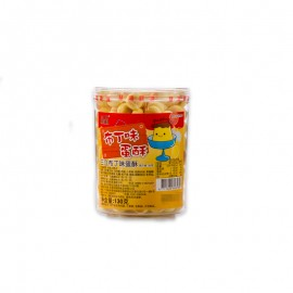 三立 布丁味蛋酥 130g