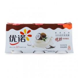 優諾優絲風味發酵乳(熱帶椰風)