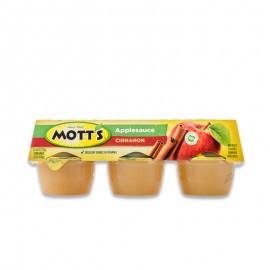 摩特 肉桂味蘋果醬(六連杯)678g