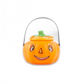 Halloween Happy Pumpkin Candy Bucket