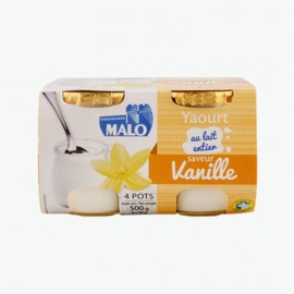 馬洛牌香草味酸乳