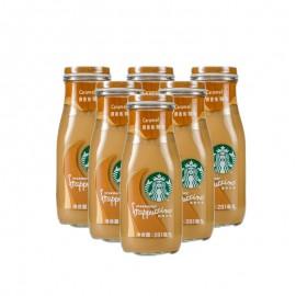 星巴克星冰樂焦糖味咖啡飲料281ml*6