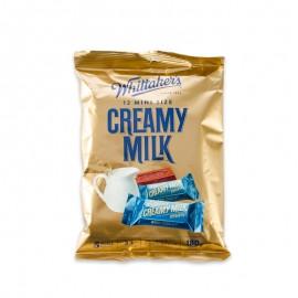 惠特克 迷你牛奶巧克力袋裝 180g(12粒)