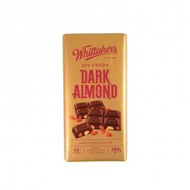 惠特克 扁桃仁黑巧克力制品 200g