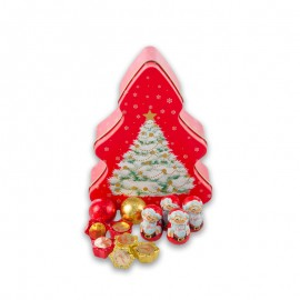 Caffarel Christmas Tree Milk Chocolate Tin