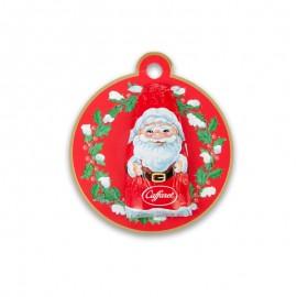 Caffarel Milk Chocolate Santa Claus Christmas Tree Decoration