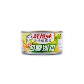 鮮得味 金槍魚罐頭(四季沙拉)180g