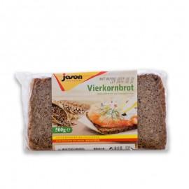 捷森 4種谷物面包 500g