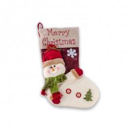 Christmas Snowman Stocking