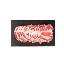 西班牙 100%巴塔耶純種黑豬 梅花肉(火鍋片)