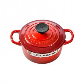 酷彩 珐琅铸铁锅 圆形锅(红色)