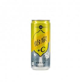 怡泉+C檸檬味汽水 330ml
