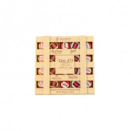 迪克多 木盒酒心巧克力制品 250g(20粒)