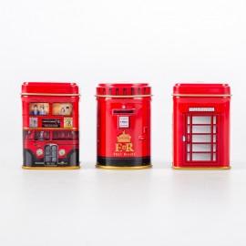 紐英利緹 英倫風鐵罐裝英式紅茶(午后紅茶 & 倫敦精選 & 早餐茶組合)