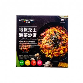 City Gourmet 培根芝士泡菜炒飯