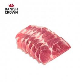 丹麦 皇冠猪 天然谷饲 梅花烤肉片