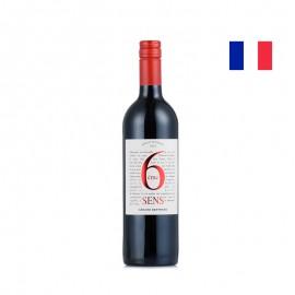 吉哈伯通 第六感紅葡萄酒(歐克IGP)