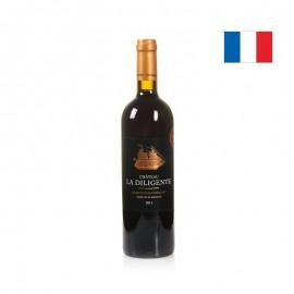 法國德利城堡紅葡萄酒2014年
