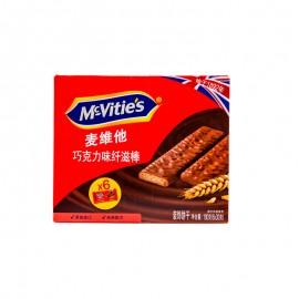 麥維他 巧克力味纖滋棒(盒裝)180g