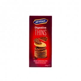 麦维他 牛奶巧克力薄脆消化饼干 100g